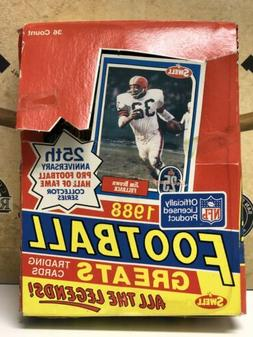 1988 Swell Football Greats Box  unopened packs!! All the Leg