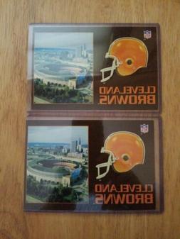 2 NOS Cleveland Browns~1989 Municipal Stadium 4 x 6 Postcard