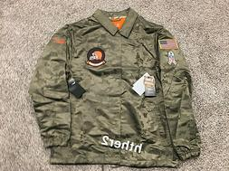 2019 Cleveland Browns Nike Salute to Service Jacket IN HAND