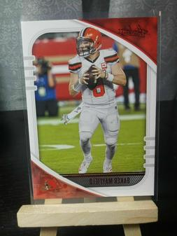 2020 Absolute Baker Mayfield Red Parallel #28 Cleveland Brow