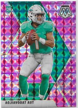 2020 Mosaic NFL Prizm Parallel singles. Vets and rookies inc