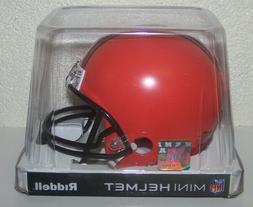 2020 NEW Cleveland Browns NFL VSR4 Style Replica Mini Footba