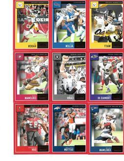 2020 Score Football RED Parallel Kareem Hunt Cleveland Brown