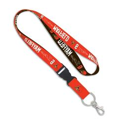 BAKER MAYFIELD #6 CLEVELAND BROWNS LANYARD DETACHABLE BUCKLE