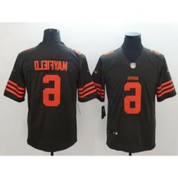 Baker Mayfield #6 Cleveland Browns Men's Jersey Mens L  stit