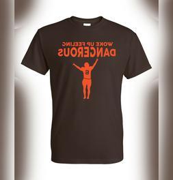 Baker Mayfield #6 Cleveland Browns T-shirt jersey NFL Danger