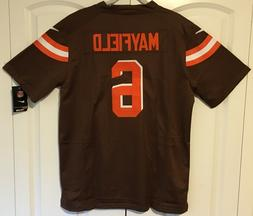 Baker Mayfield Cleveland Browns Men's Brown Stitched Jerse