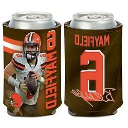 BAKER MAYFIELD CLEVELAND BROWNS NEOPRENE CAN BOTTLE COOZIE K