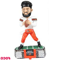 Baker Mayfield Cleveland Browns Stadium Lights White Jersey