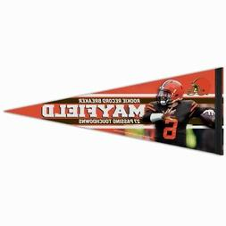 BAKER MAYFIELD LIMITED EDITION CLEVELAND BROWNS ROOKIE RECOR