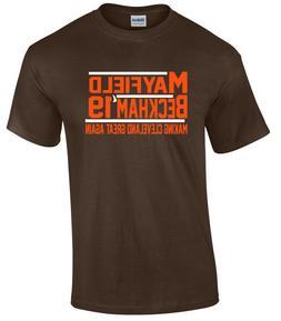 Baker Mayfield Odell Beckham Jr Cleveland Browns 2019 T-Shir