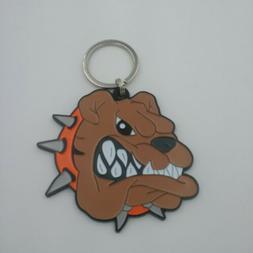 BIG DAWG/Browns Bulldog keychain/Backpack Jewelry