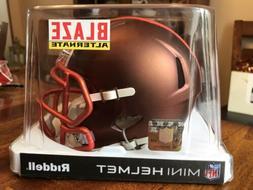 Blaze Alternate Mini Helmet Cleveland Browns RARE NFL Brand