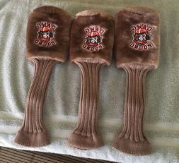 BRAND NEW Cleveland Browns DAWG POUND Golf Club Head Covers