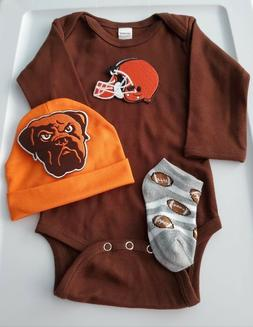 Browns baby/infant clothes Browns baby shower gift  Browns n