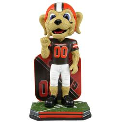 Chomps Cleveland Browns Mascot Name and Number Bobblehead NF