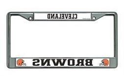Chrome License Plate Frame - Tennessee Titans