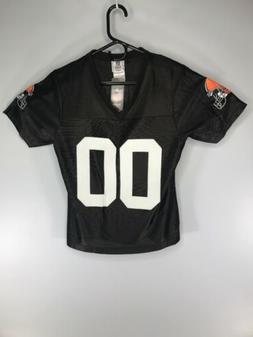 Cleveland Browns #00 Women's Reebok NFL Team Apparel Jersey