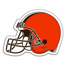 "Cleveland Browns 12"" Helmet Car Magnet Fremont Genuine Merch"