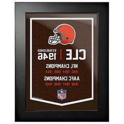 Cleveland Browns 12x16 Team Empire Framed Artwork
