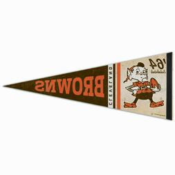 """CLEVELAND BROWNS 1964 WORLD CHAMPS ELF VINTAGE STYLE 12""""X30"""""""