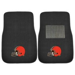 Cleveland Browns 2 Piece Embroidered Car Auto Floor Mats