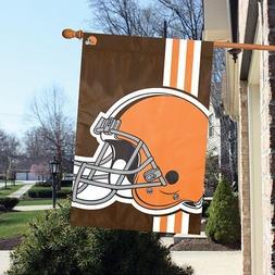 Cleveland Browns 24 x 36 Bold Logo Banner Flag