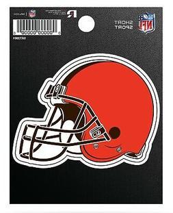 "Cleveland Browns 3"" Die Cut Decal Flat Vinyl Bumper Sticker"