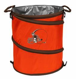 Cleveland Browns 3-in-1 Collapsible Beverage Cooler, Trash C