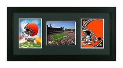 cleveland browns 3 in 1 framed picture