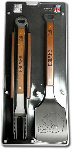 Cleveland Browns 3 Piece BBQ Grill Tools Tongs Spatula Fork