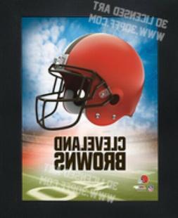Cleveland Browns 3D Artwork