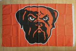 Cleveland Browns 3x5 ft Flag Banner Dawg Pound NFL