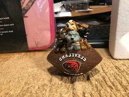 """CLEVELAND BROWNS---4 1/2"""" DAWGS PAPERWEIGHT"""