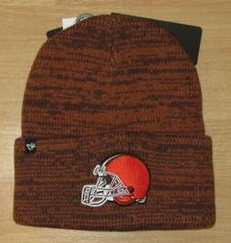 Cleveland Browns '47 Brand Double Knit Cuffed Winter Brain F