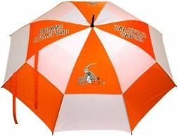 Cleveland Browns 62-Inch Double Canopy Umbrella, NFL, with s