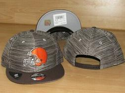 cleveland browns 9fifty blurred trick snapback hat