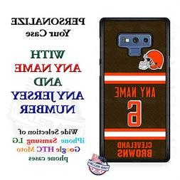 Cleveland BrownsA18 Personalized Football Phone Case Cover