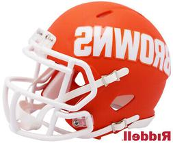 Cleveland Browns AMP Speed Mini Helmet New In Box 10080