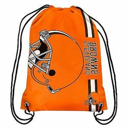 Cleveland Browns Back Pack/Sack Drawstring Bag/Tote NEW Back