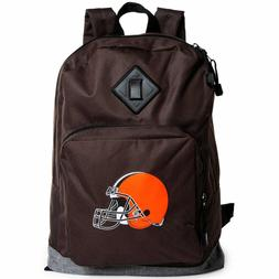 Cleveland Browns Backpack With Front Pocket Zipper 17X12X6 N