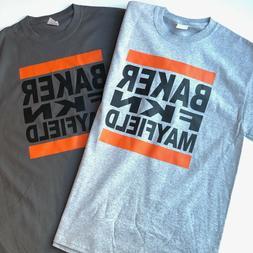 "Cleveland Browns Baker ""Freakin'"" Mayfield T-shirt Funny Foo"