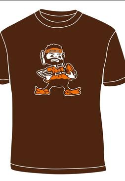 """Cleveland Browns Baker Mayfield """" brownie"""" Elf WERE BACK T s"""