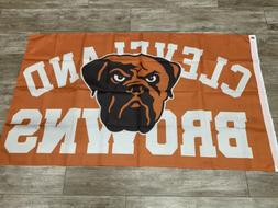 Cleveland Browns Banner Flag Free Shipping From CA