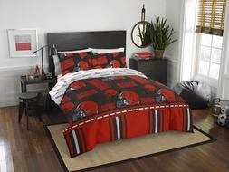Cleveland Browns Bedding NFL Licensed Comforter Set Pillowca