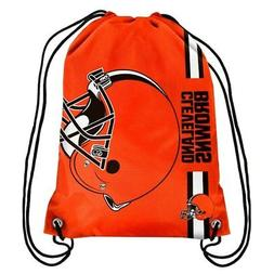 Forever Collectibles Cleveland Browns Big Logo Drawstring Ba