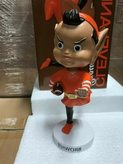 Cleveland Browns Brownie Elf Mascot Bobblehead Bobble Head N