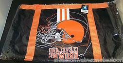 Cleveland Browns Canvas Tailgate Tote Bag Purse -