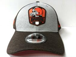 Cleveland Browns Cap New Era 39Thirty Stretch On Field 2018