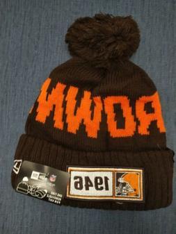 Cleveland Browns Cap Hat Football NFL New Era Beanie